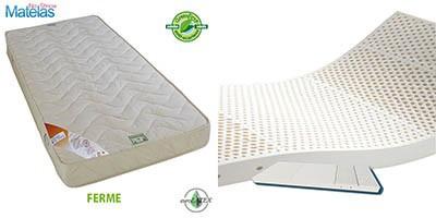 Matelas latex 160x200 5 zones de confort - Matelas latex 5 zones 160x200 ...